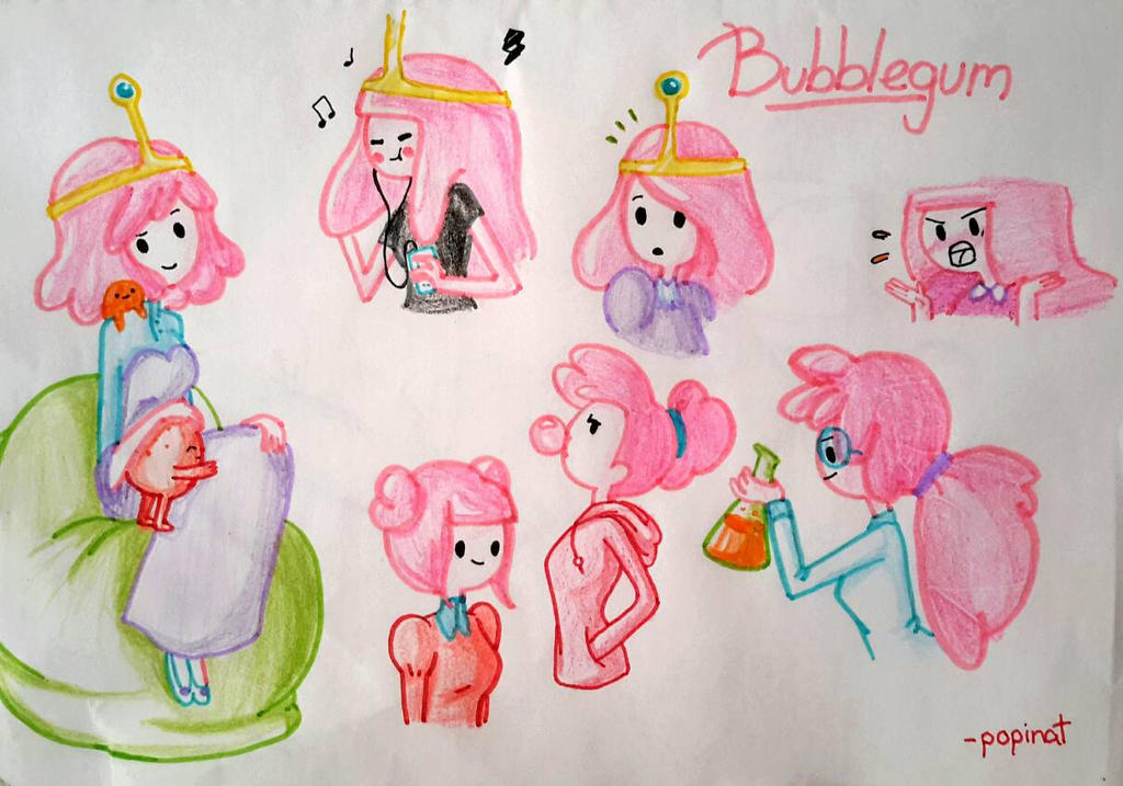 Bonnibel doodles by popinat