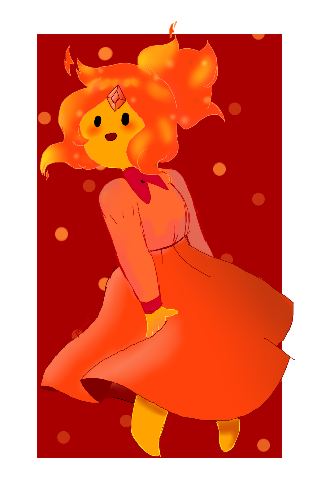 Flame Princess by popinat
