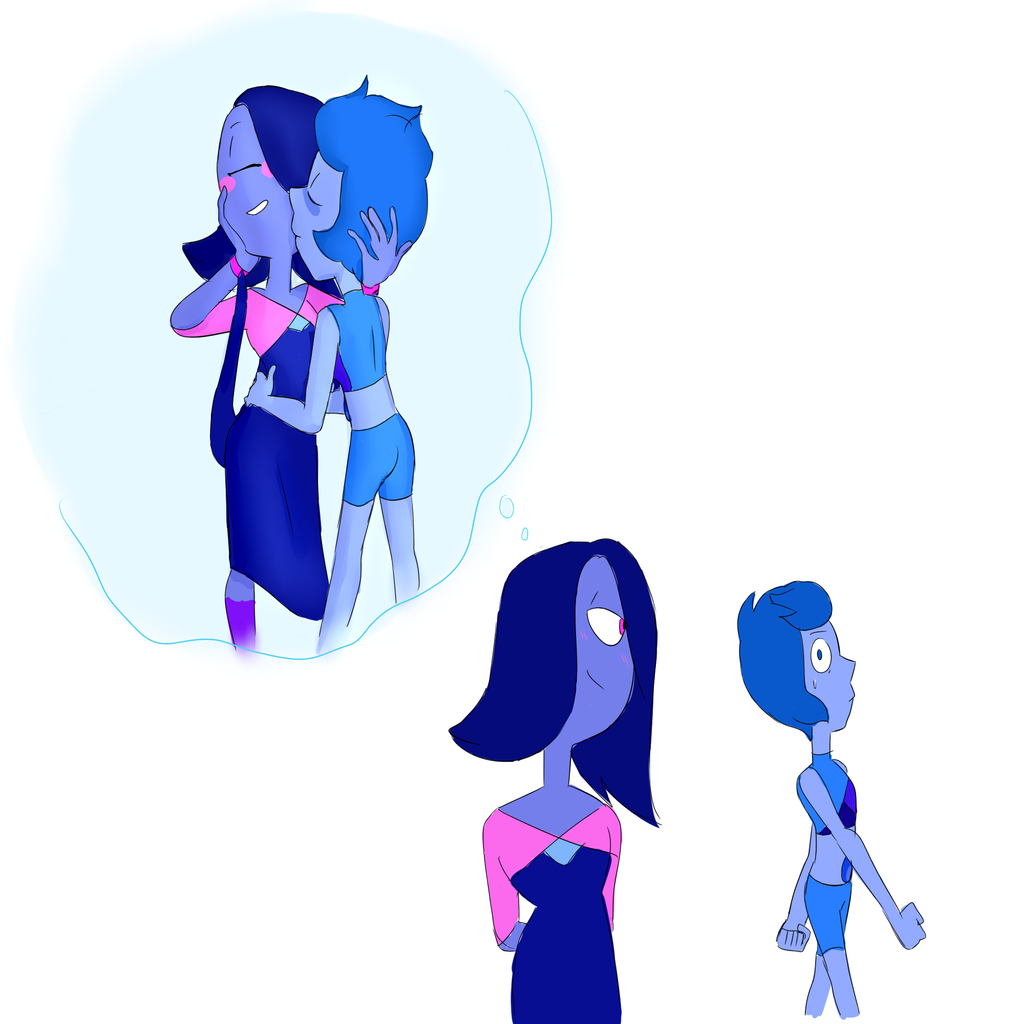 She has a thing for Lapis Lazulis by popinat