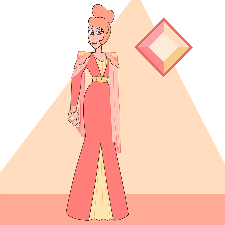 Peach Diamond by popinat