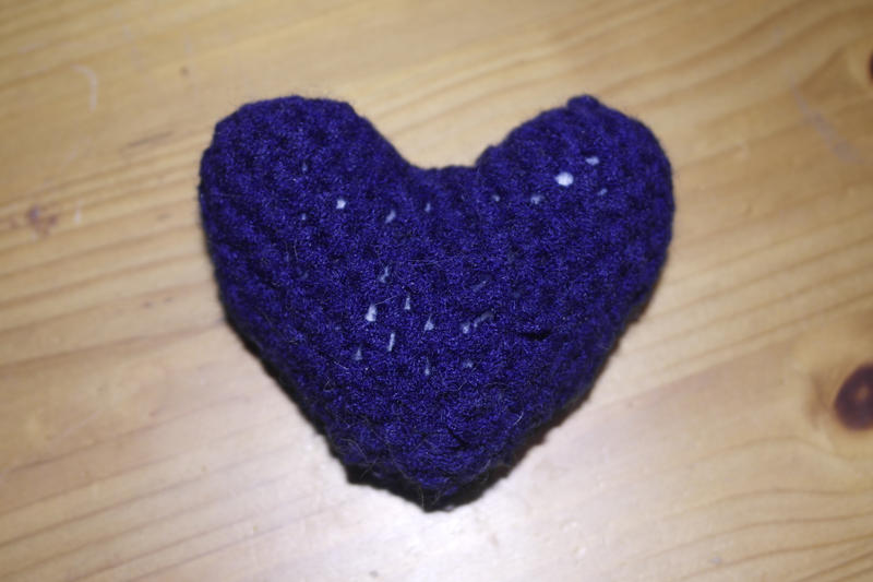 Amigurumi Heart by Toyger