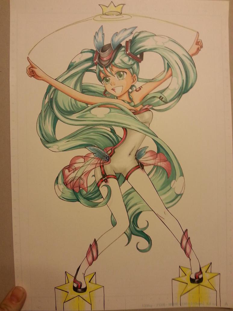 Hatsune Miku by izaioi