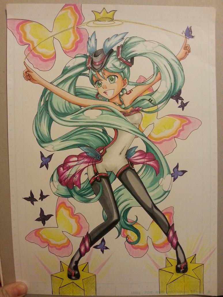 Hatsune Miku ( Stewardess ) update by izaioi