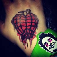 A Heart Like a Hand Grenade by WhitemeseKid