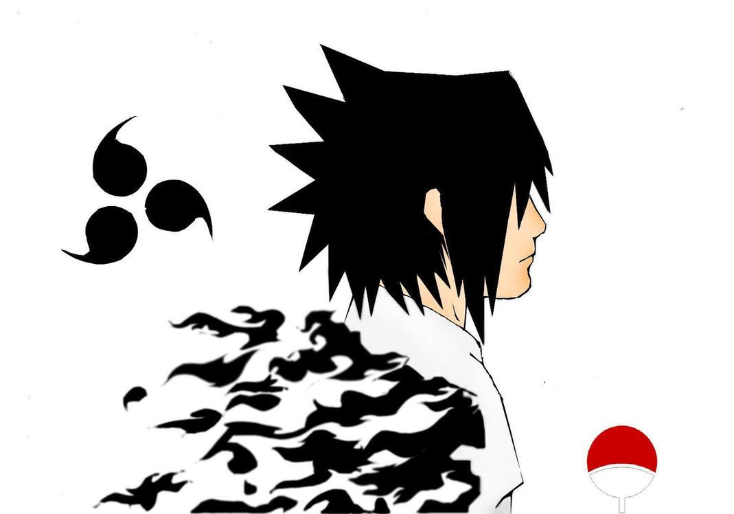 Naruto Different Curse Marks Sasuke curse mark by Tobi-to