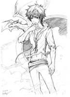 Akira's Back by arekupacific