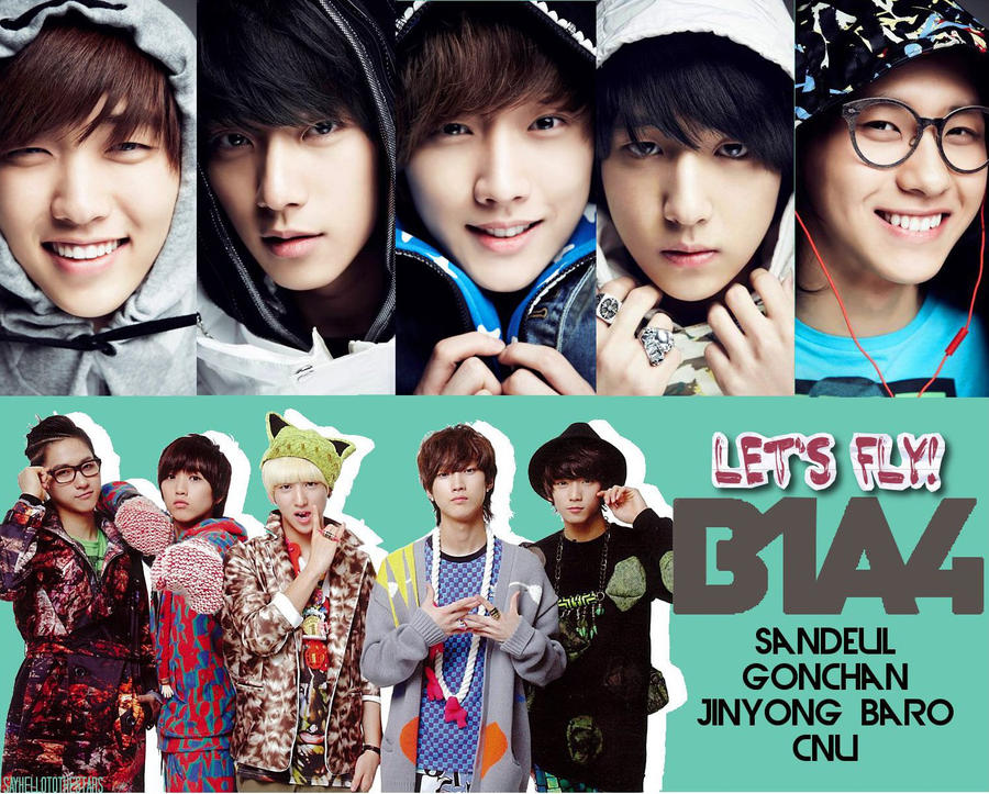 B1A4 - Let s Fly by  B1a4 2014 Wallpaper