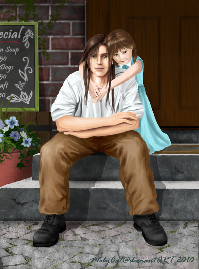 FF8 - Laguna and Ellone by MelyCat