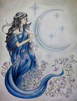 MoonGoddess by MelyCat
