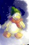 happy yellow penguin :D