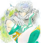 Edge and Rydia