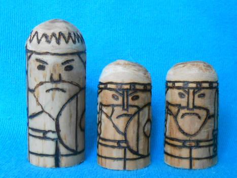 Viking HNEFATAFL pions