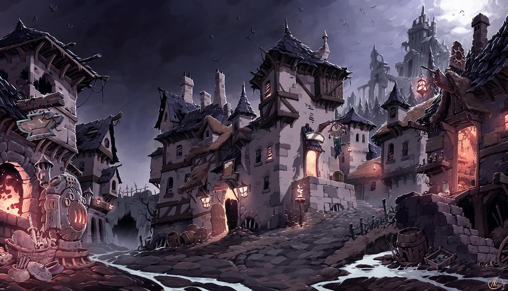 Village by Nicolasaviori
