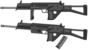 MP7C Civilian MP7 by TheFrozenWaffle
