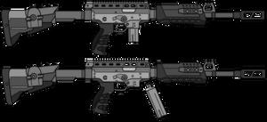 Zlatmash KSO-9 Krechet Carbine by TheFrozenWaffle
