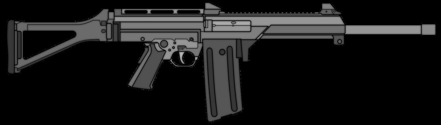 LW3 Automatic Shotgun by TheFrozenWaffle