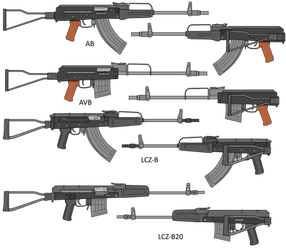 Baryshev Weapon Family