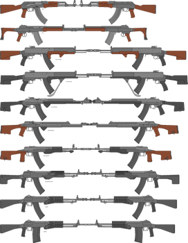 (INCORRECT SCALE) Kalashnikov Derivitives Part-3