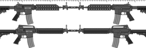 Metric Ton MT-5 and MT-60 Rifles by TheFrozenWaffle