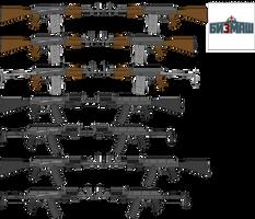 Bizmash TC Weapon Series by TheFrozenWaffle