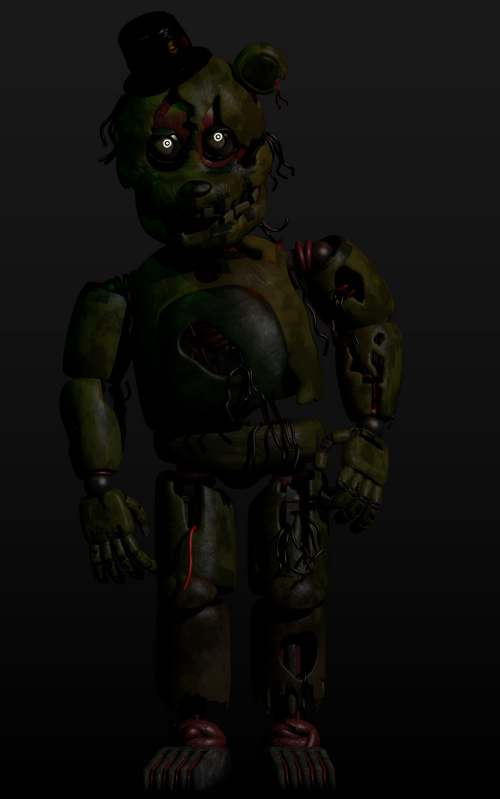 Beartrap V2 by TheComicalLemon