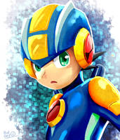 Megaman EXE by Pcat007