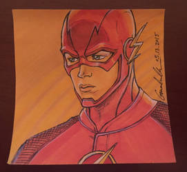 Flash Post-it Note Sketch by GuanlinChen