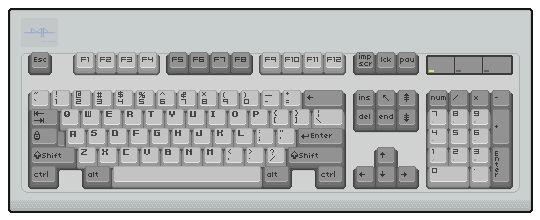 Pixel Art Keyboard