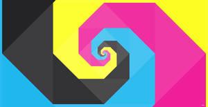 CMYK spiral