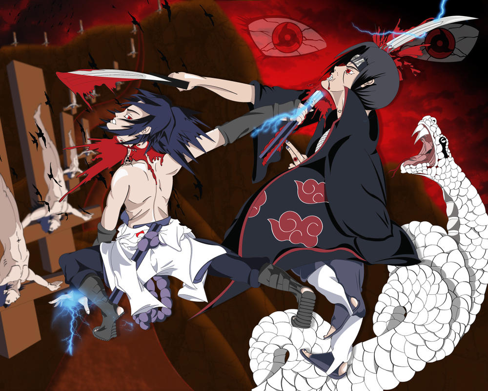 Itachi Vs Sasuke By ImmortalZod On DeviantArt