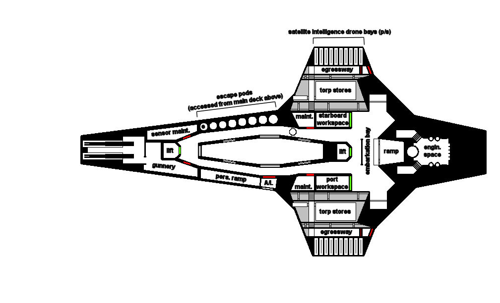 CSV Normandy SR-3 lower deck plan by imperator-prime on