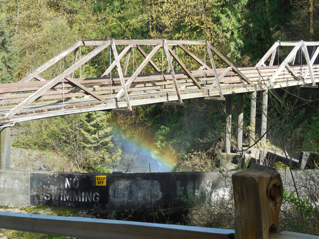 Rainbow Under the Bridge by Isaiah2696