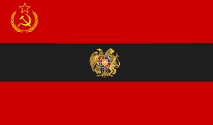 Alternate Armenian SSR Flag