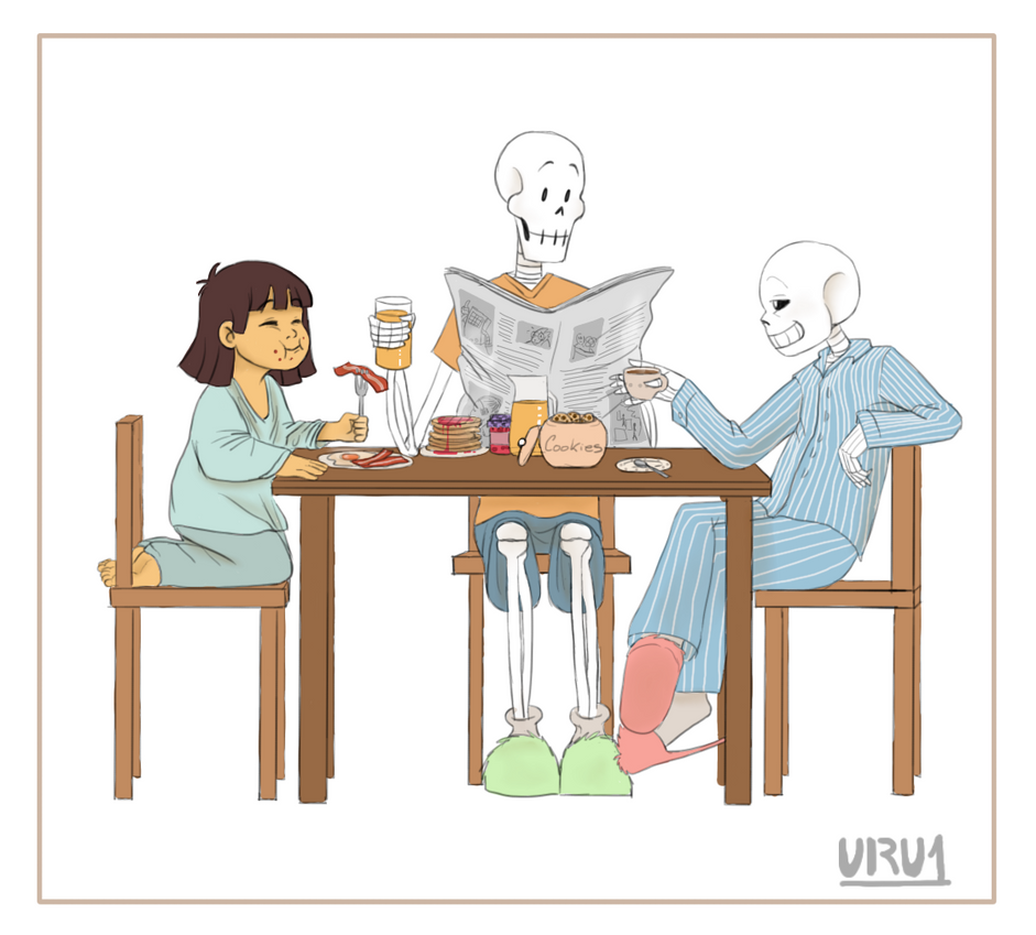 Undertale-Breackfast by Uru1