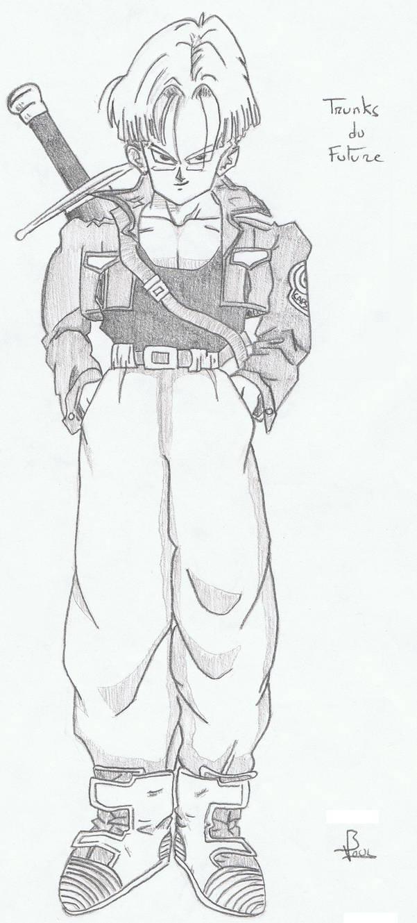 Dessin 16 Trunks By Vince3001 On Deviantart