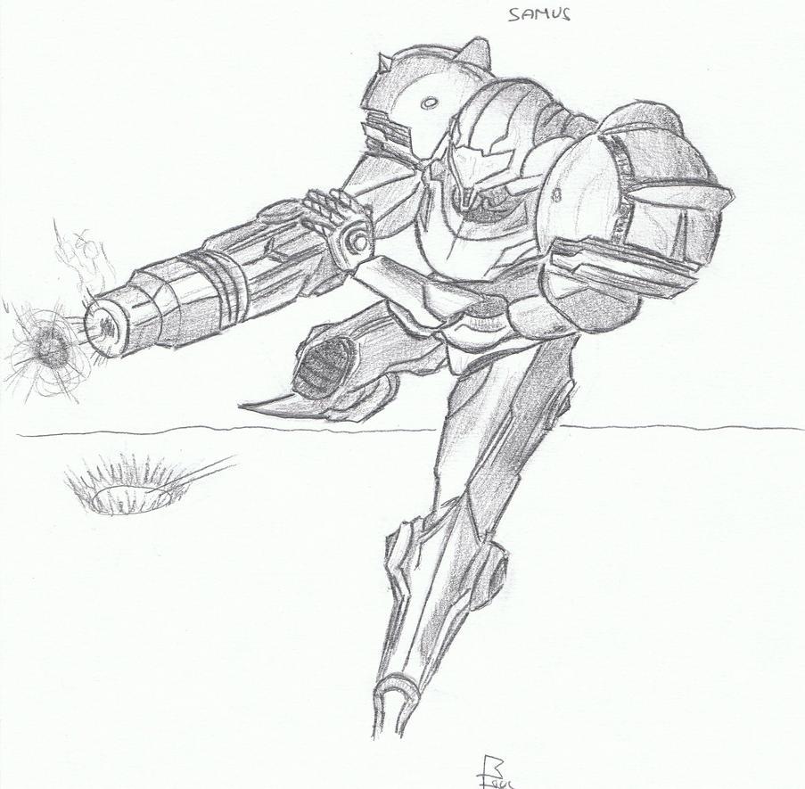 dessin 57 samus action by vince3001 on deviantart