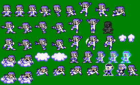 Dream Man Sprite Sheet by mike1967-now