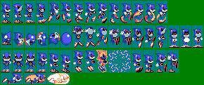 Metal Sonic - Sonic the Hedgehog Game Gear