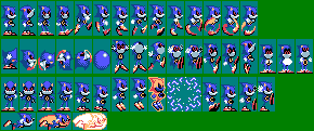 Metal Sonic - Sonic the Hedgehog Game Gear by mike1967-now
