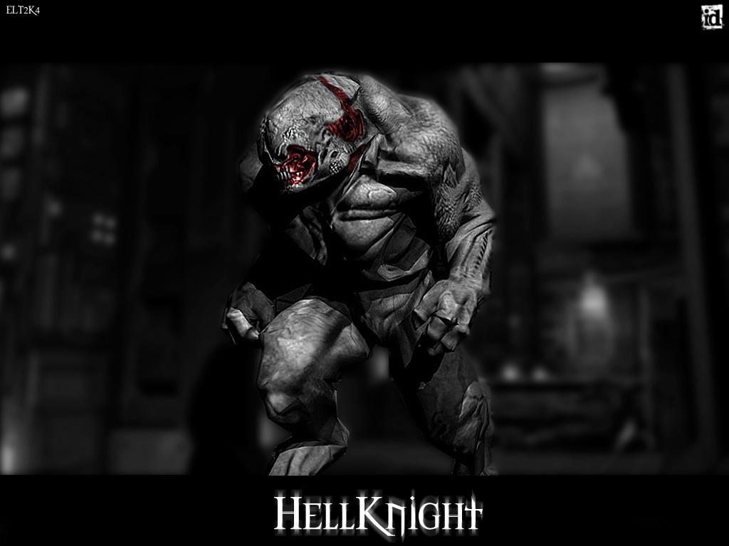 hellknight - doom 3 wallpaperskullmonkey666 on deviantart
