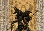 Anubis and Osiris