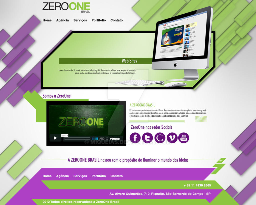 Zeroone Layout Novo2 by miqueias