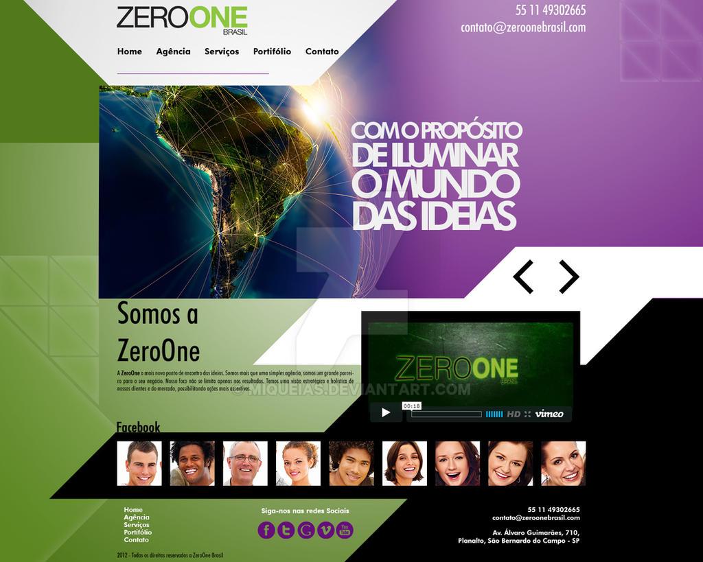 Zeroone Layout Novo by miqueias