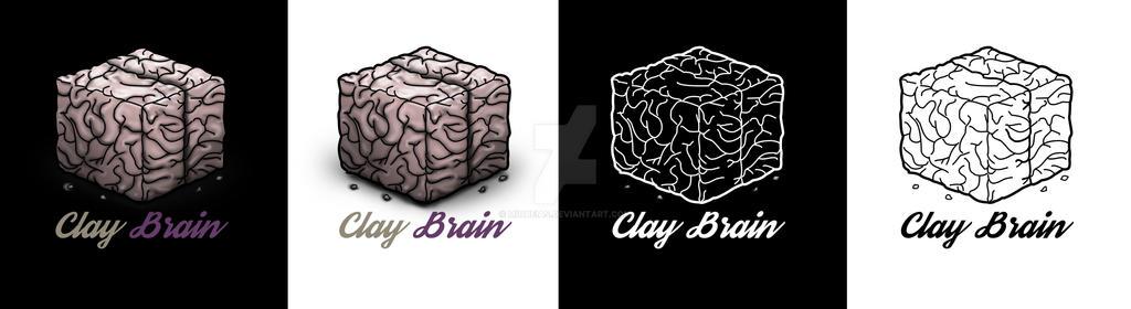 Logo - ClayBrain by miqueias