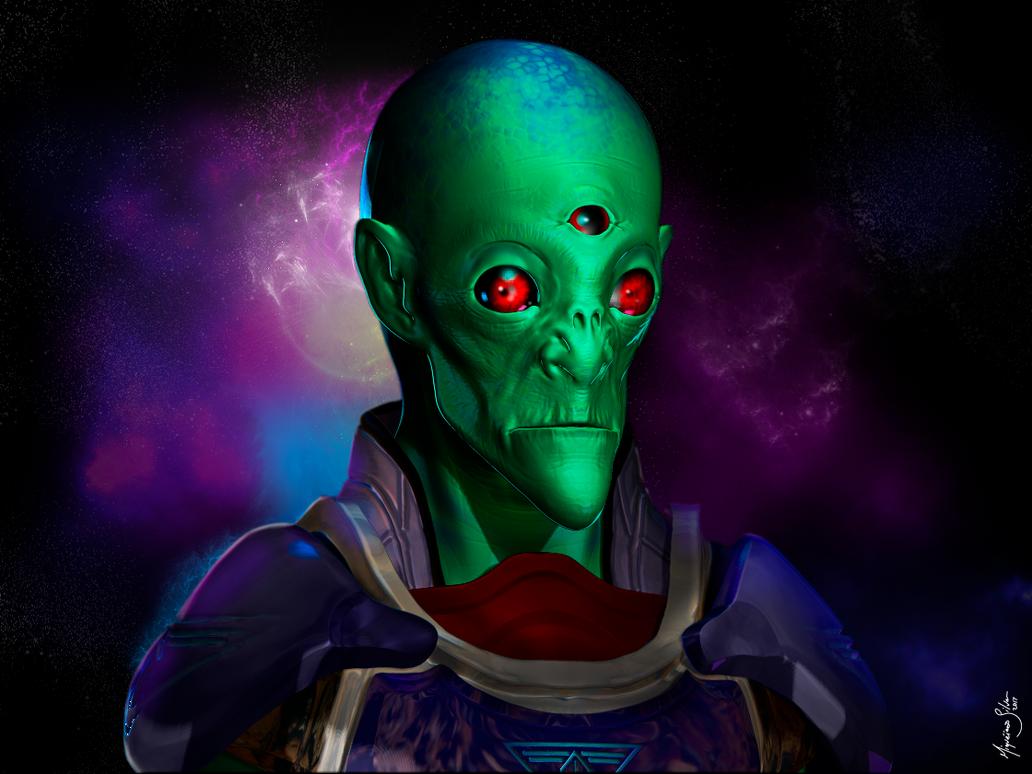 Alien001 by miqueias
