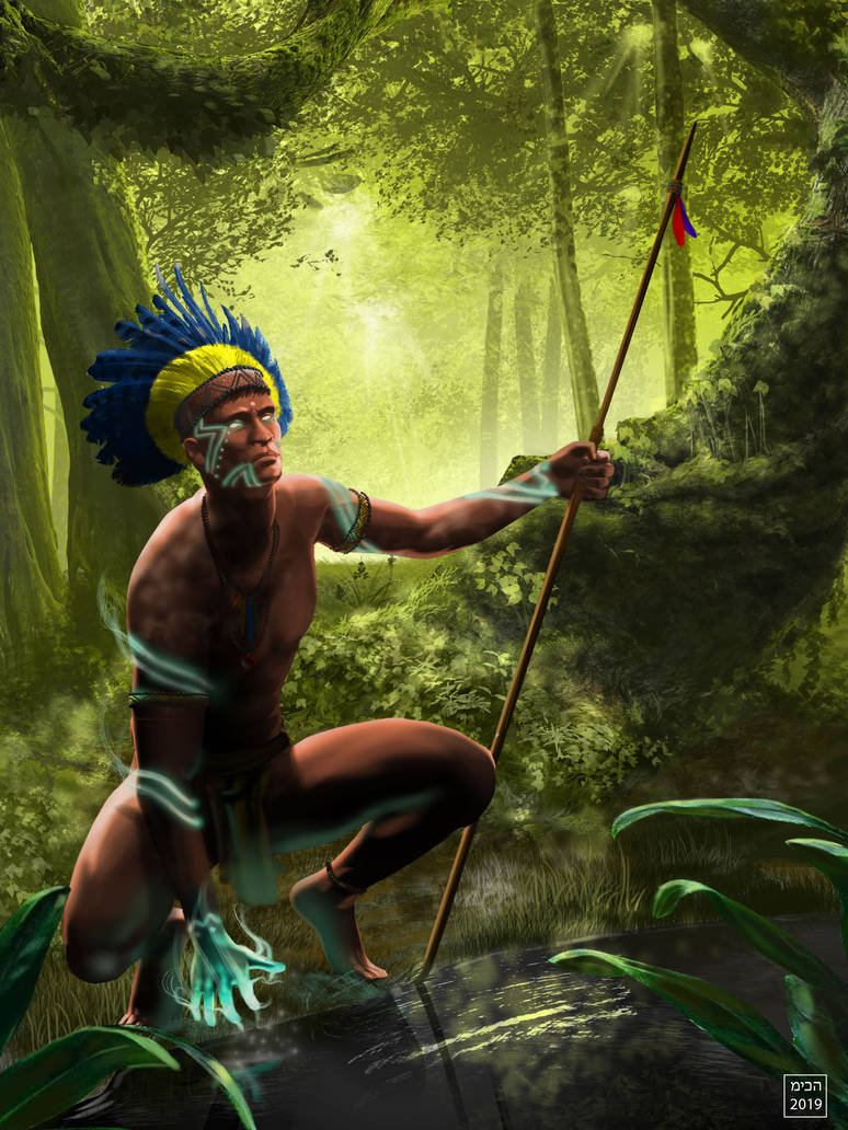 Indian Brazilian by miqueias
