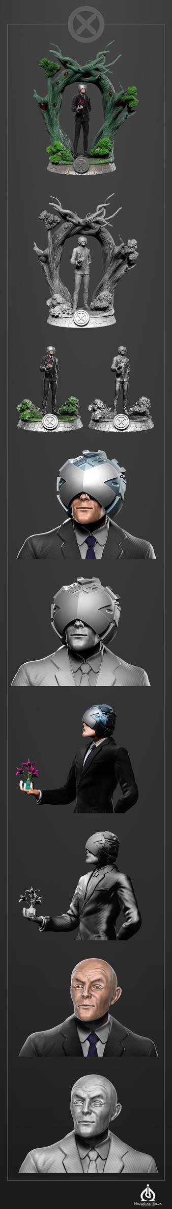 Professor Charles Xavier - Fanart