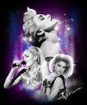 Madonna Tshirt Illustration