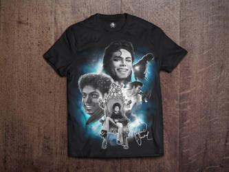 Michael Jackson Tshirt MockUp