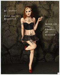 Bad girl Hermione 1200 by simpleguyart